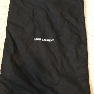 Saint Laurent dust bag